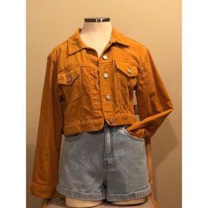 PacSun corduroy cropped jacket
